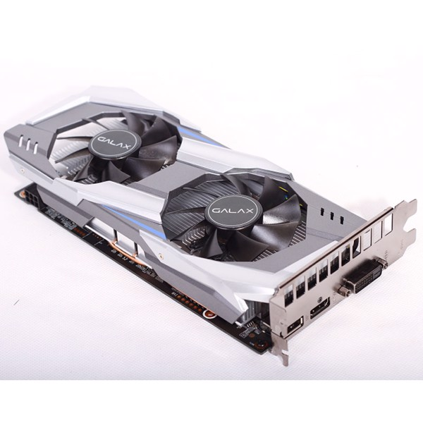 VGA GALAX GTX 1060 OC 6G BLACK 2 FAN