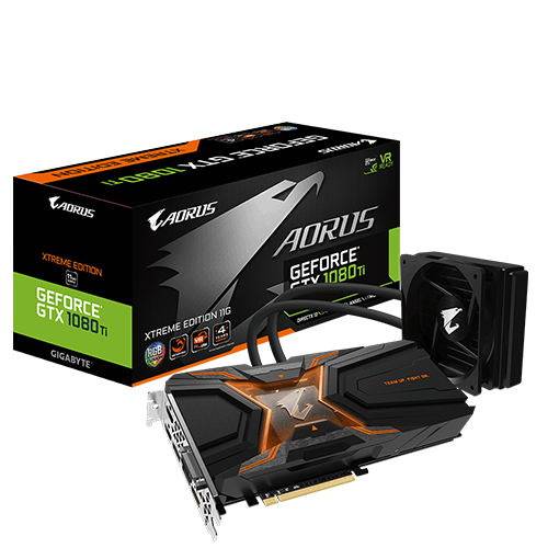 VGA GIGA GTX 1080Ti AORUS 11G WATERFORCE XTREME EDTION
