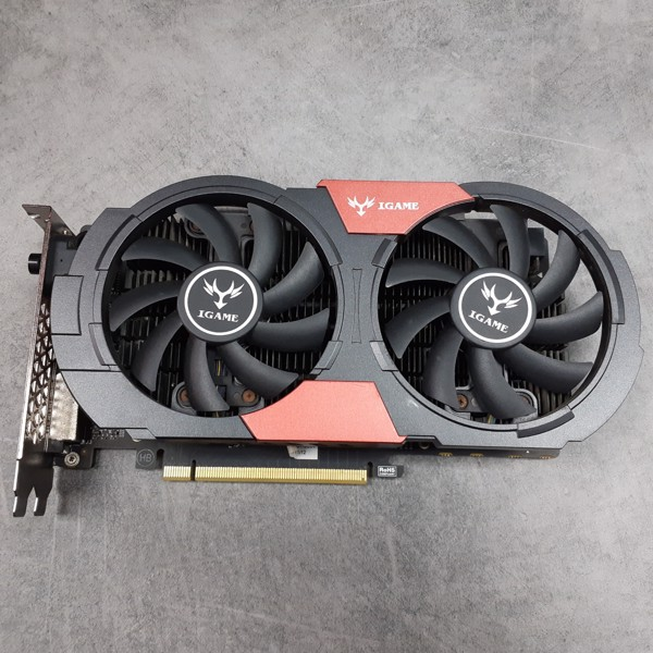 VGA COLORFUL IGAME GTX 1050Ti U-4GB CÒN BH
