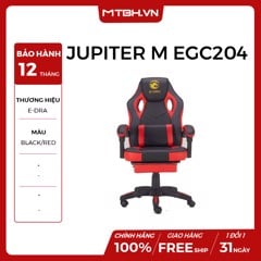 GHẾ E-DRA JUPITER M EGC204 GAMING BLACK RED