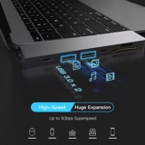 Hub usb type c 7in1-2 cho macbook