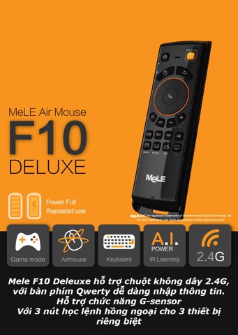 Chuột bay Mele F10 Deluxe cao cấp