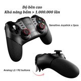 Tay cầm chơi game iPega 9077 hỗ trợ bluetooth android, window