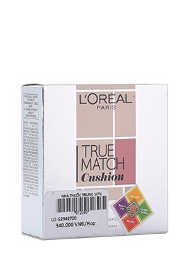Phấn Nước Mịn Da L'oreal Paris True Match Cushion Silky Foundation