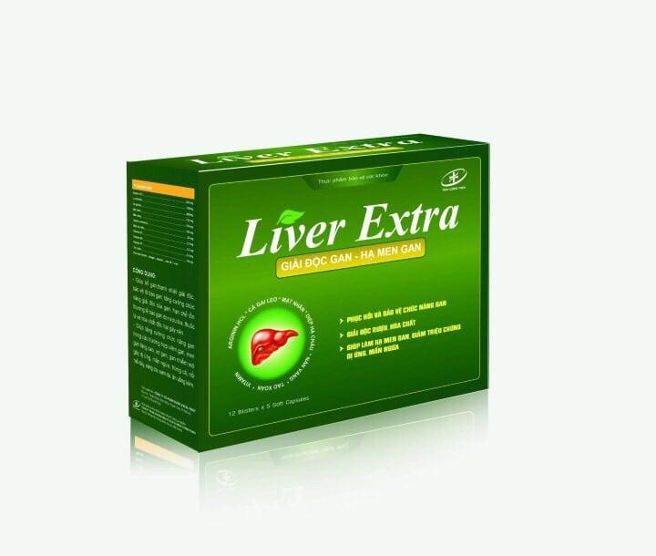 Viên Uống Giải Độc Gan Liver Extra