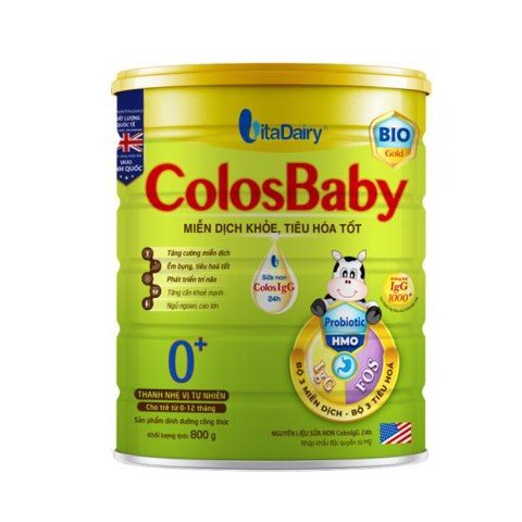 Sữa bột Colosbaby Bio Gold 0+