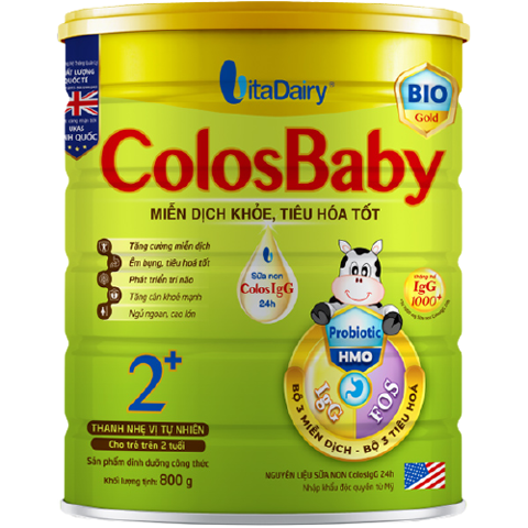 Sữa Bột Colosbaby Bio Gold 2+