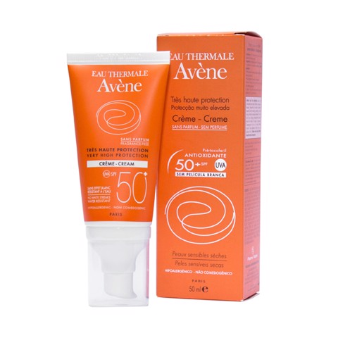 Kem Chống Nắng - Avène Very High Protection Cream 50+ Spf Fragrance Free