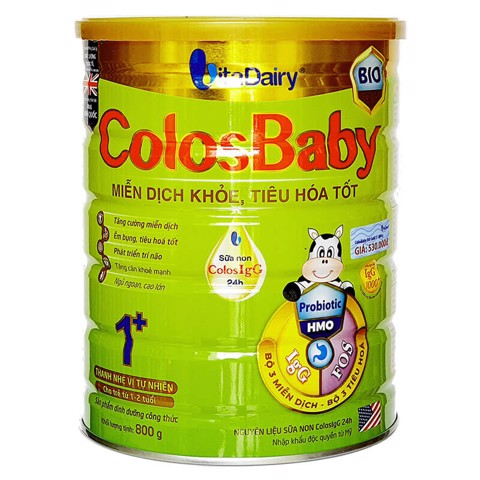 Sữa Bột Colosbaby Bio Gold 1+
