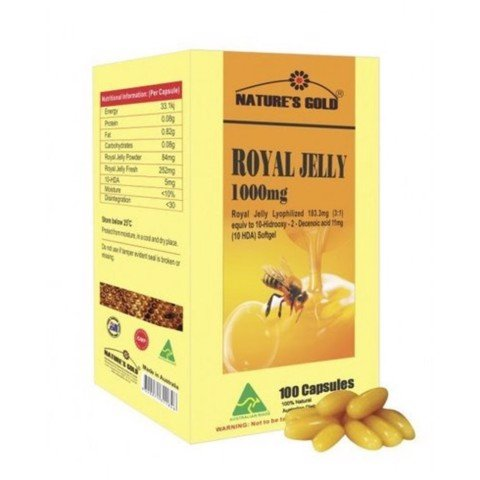Sữa Ong Chúa Nature's Gold - Royal Jelly