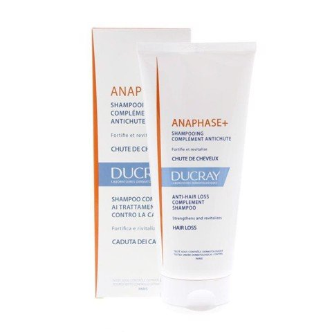 DẦU GỘI NGĂN RỤNG TÓC ANAPHASE PLUS ANTI-HAIR LOSS COMPLEMENT SHAMPOO - DUCRAY 200ML