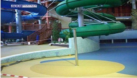 FLOOR AND WALL FOR WATER PARK, SWIMMING POOL