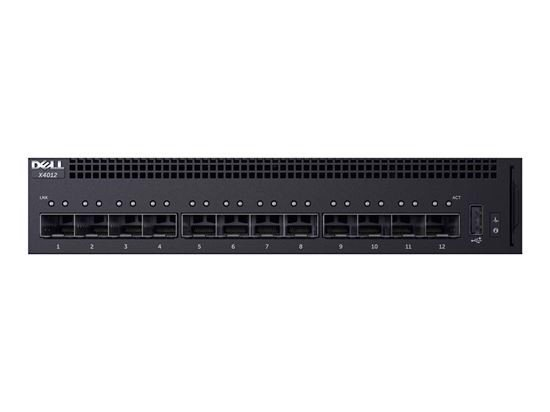 DELL NETWORKING X4012 SMART WEB MANAGED SWITCH, 12X 10GBE SFP+ PORTS