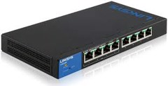 LINKSYS LGS308P 8-PORT POE+ SMART GIGABIT SWITCH
