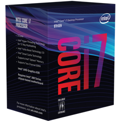 CPU INTEL CORE I7 8700K