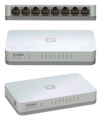SWITCH DLINK 5 PORT (DES-1005A)