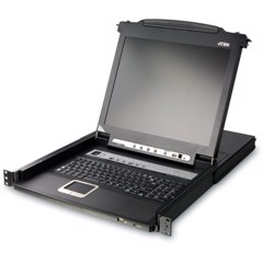 ATEN CL1308 LCD KVM SWITCH 8 PORT, MÀN HÌNH 19 INCH