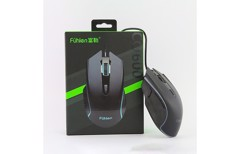 CHUỘT FUHLEN CO600 RGB GAMING BLACK USB