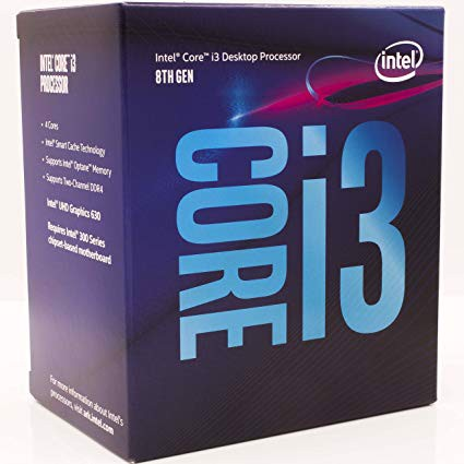 CPU Intel Core i3 8300 (4.0Ghz/ 8Mb cache) Coffee Lake