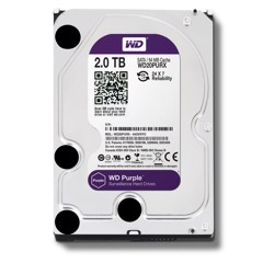 HDD Western Purple 2TB/5400 Sata 3 64Mb