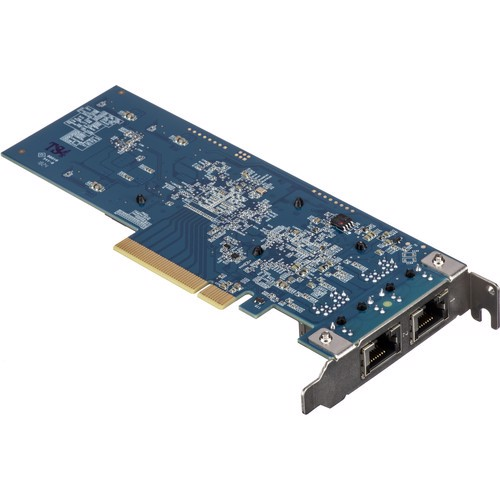 SYNOLOGY E10G18-T2 DUAL-PORT 10 GB/S PCIE EXPANSION CARD