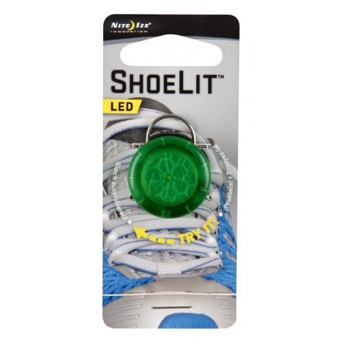 Nite Ize ShoeLit Green