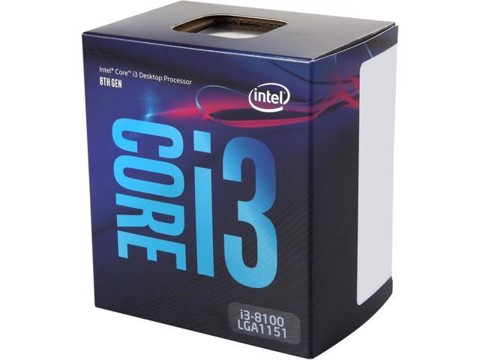CPU Intel Core i3 8100 (3.6 Ghz / 6Mb cache / LGA1151)