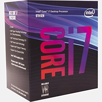 CPU Intel Core I7 8700 4.00MHz