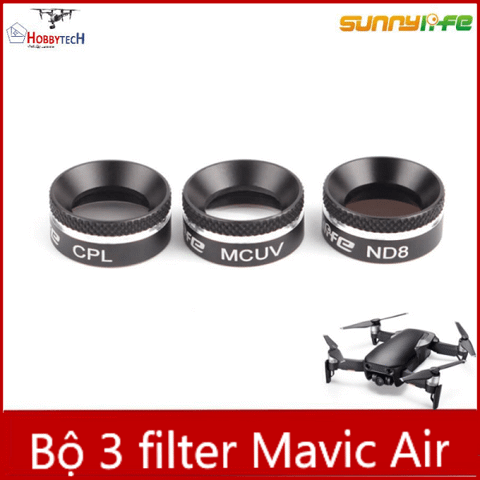 Combo 3 filter mavic air - Phụ kiện