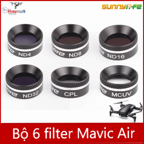 Combo 6 filter Mavic Air – Phụ kiện Mavic air