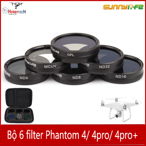 Bộ filter combo Phantom 3/4