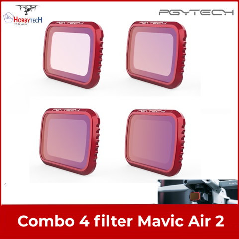 Bộ combo 4 filter ND Mavic Air 2 – PGYtech professional