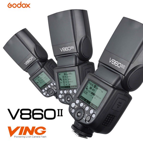 Đèn flash led Godox V860II