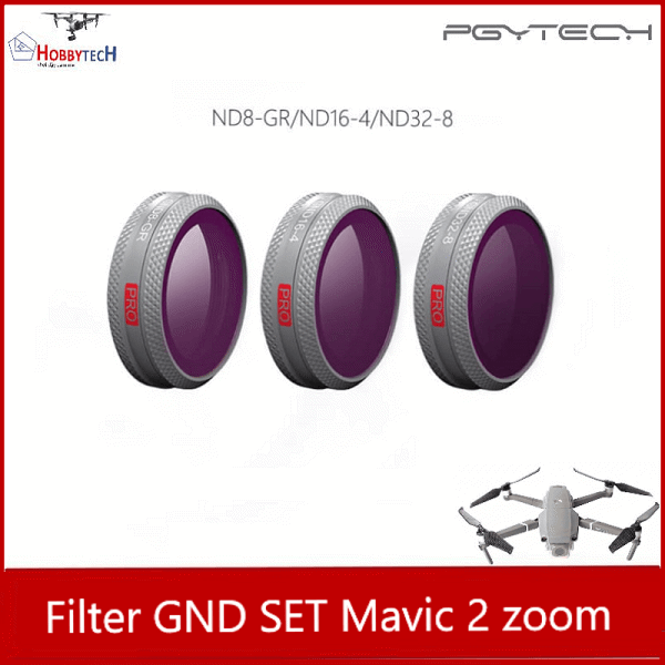Combo 3 lens filter GND mavic 2 zoom professional - PGYTECH