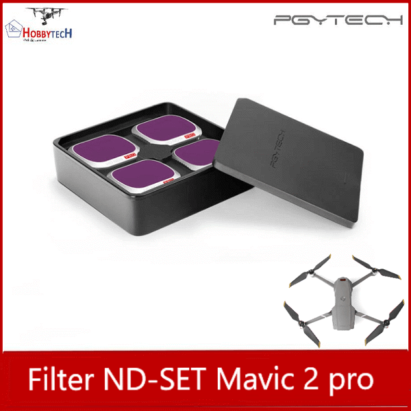 Combo 4 lens filter ND mavic 2 pro professional – PGYTECH