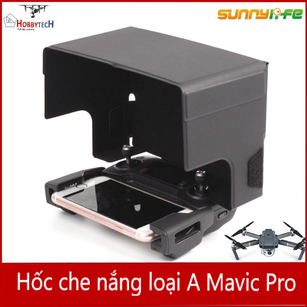 Che nắng phone Mavic / Spark - Type Pro