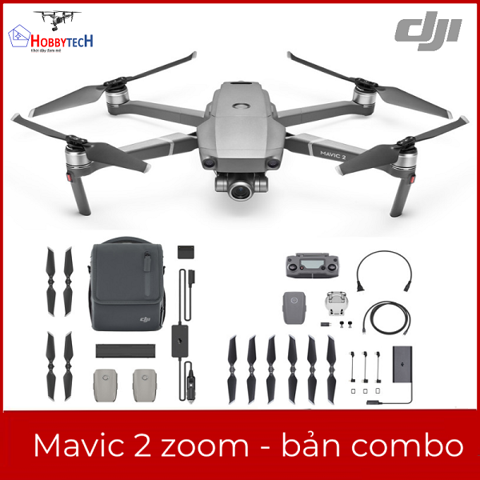 DJI Mavic 2 Zoom - Fly More Combo