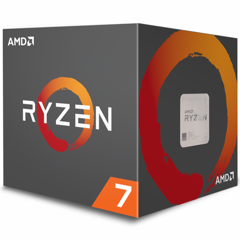 CPU AMD Ryzen 7 2700X (8C/16T, 3.7 GHz - 4.3 GHz, 16MB) - AM4
