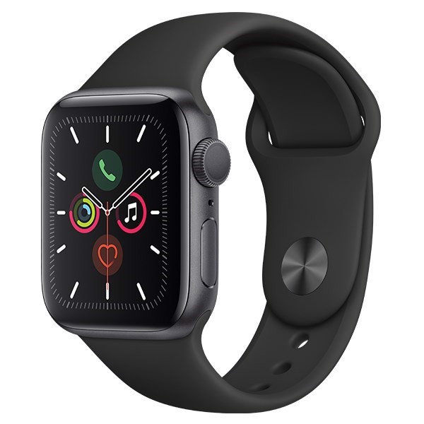 Apple watch S5 44mm dây cao su GPS