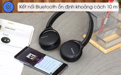 Tai nghe ốp tai Sony WH-CH510/BZE Bluetooth