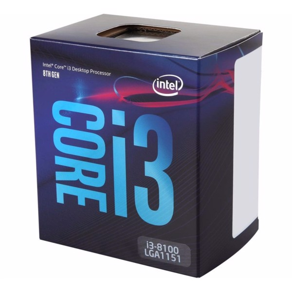 CPU Intel Core I3-8100 (3.6GHz)