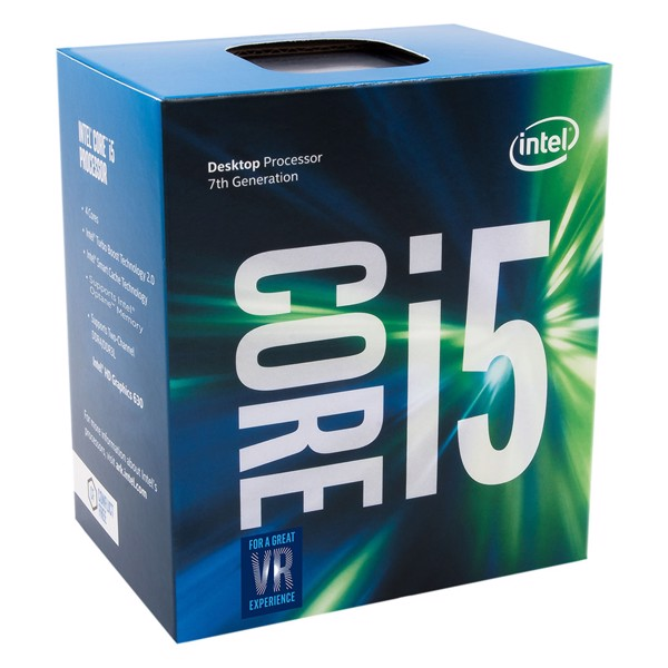 CPU Intel Core i5-7600K (3.8GHz - 4.2GHz)
