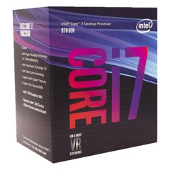 CPU Intel Core I7-8700K (3.7GHz)