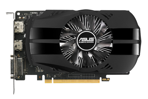 Card màn hình ASUS GeForce GTX 1050 2GB GDDR5 Phoenix (PH-GTX1050-2G)