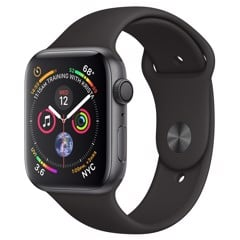 Apple watch S4 44mm dây cao su GPS