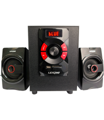 Loa máy tính 2.1 LEXING LX-518 (Bluetooth/FM/USB/SD/Remote)