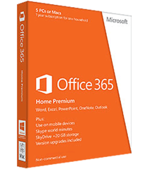 Phần mềm Office 365 Home Premium 32bit/64 English 6GO - 00018