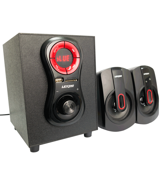 Loa máy tính 2.1 LEXING LX-528 (Bluetooth/FM/USB/SD/Remote)