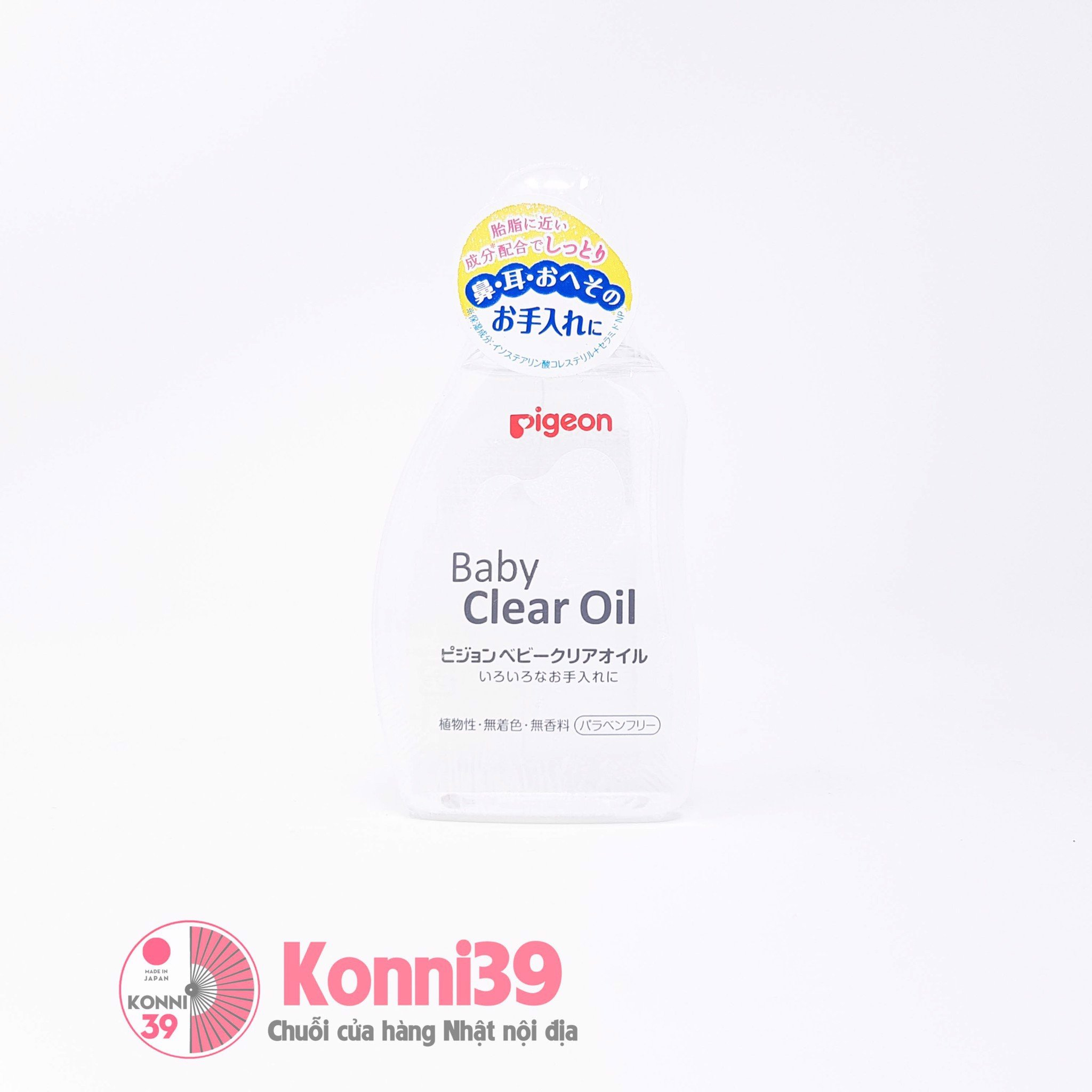 Dầu massage body em bé Pigeon Baby Clear Oil 80ml