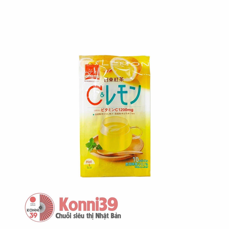 Nước ép chanh mật ong Vitamin C Nittoh 9.8g (9.8gx10 gói)